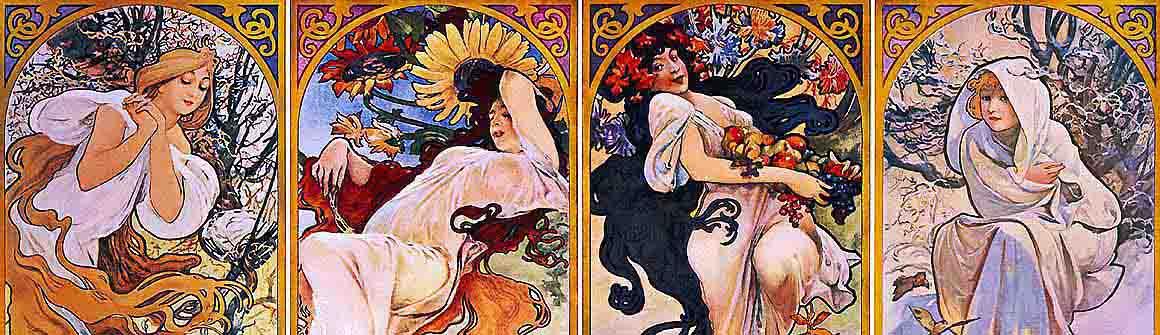 Artistes A-Z - Alfons Mucha